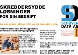 Firmapresentasjon Schøyen Data 2020 - Beskjert
