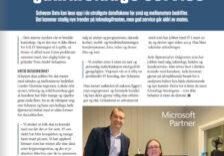 Artikkel om Schøyen Data i magasinet Sarpingen.